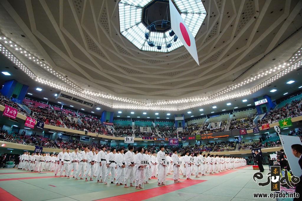 第41回全国高等学校柔道選手権大会第1日開始式