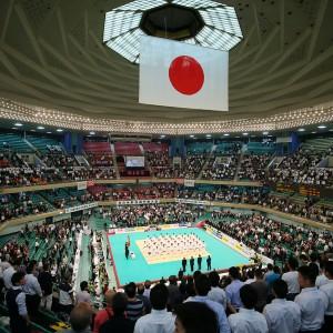 平成30年全日本柔道選手権の開会式