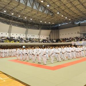 2018年全日本カデ柔道体重別選手権、開会式