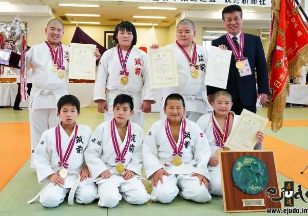 第39回全国少年柔道大会、筑前町スポーツ少年団夜須柔道部