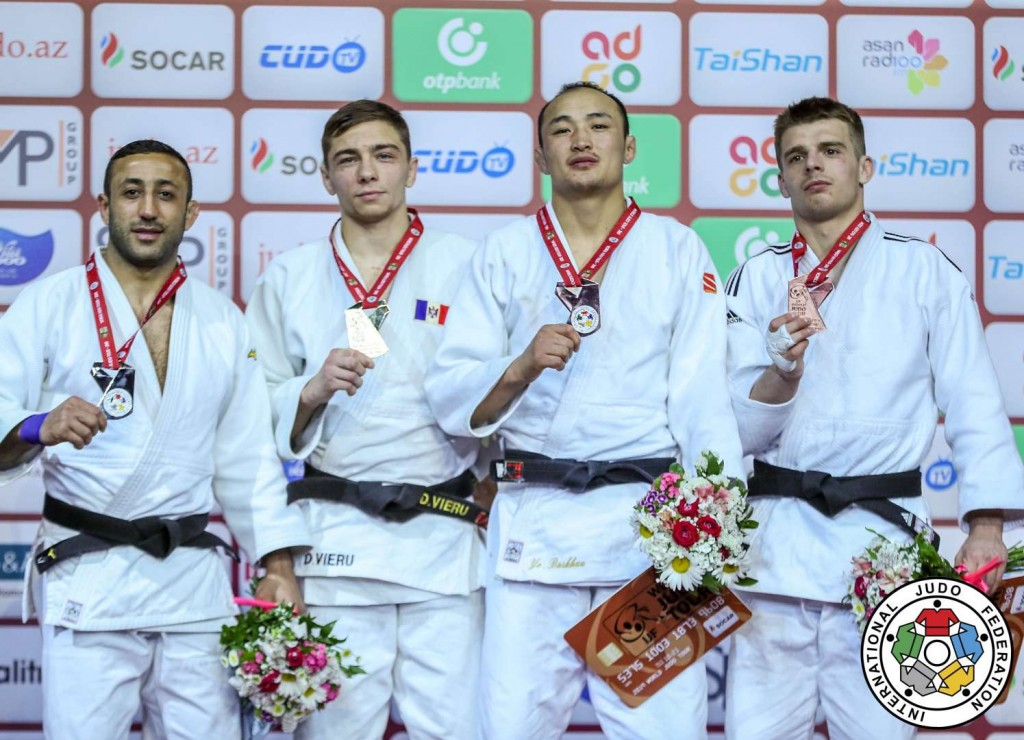 -66kg medalists at Judo GS BAKU 2019