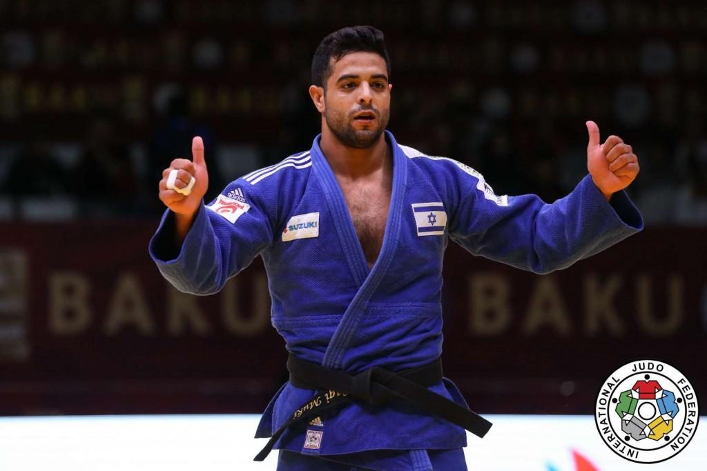 Sagi Muki got 1st prize of -81kg at GS Baku 2019.