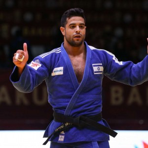 Sagi Muki got 1st prize of -81kg at GS Baku 2019.