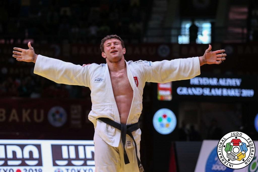 GS Baku 2019, Majdov won 1st prize at -90kg category.
