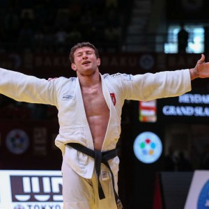 GS Baku 2019, Majdov won 1st prize at -90kg category.