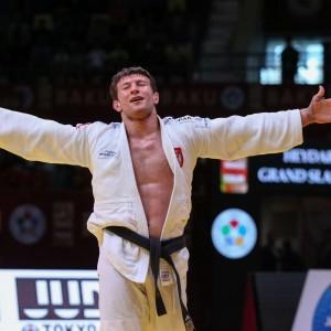 グランドスラム・バクー2019、90kg級で優勝したネマニャ・マイドフ。