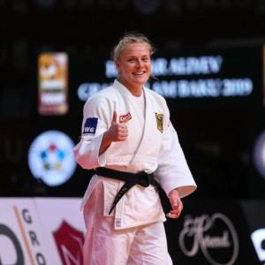 グランドスラム・バクー2019、78kg級で優勝したルイーズ・マルツァーン
