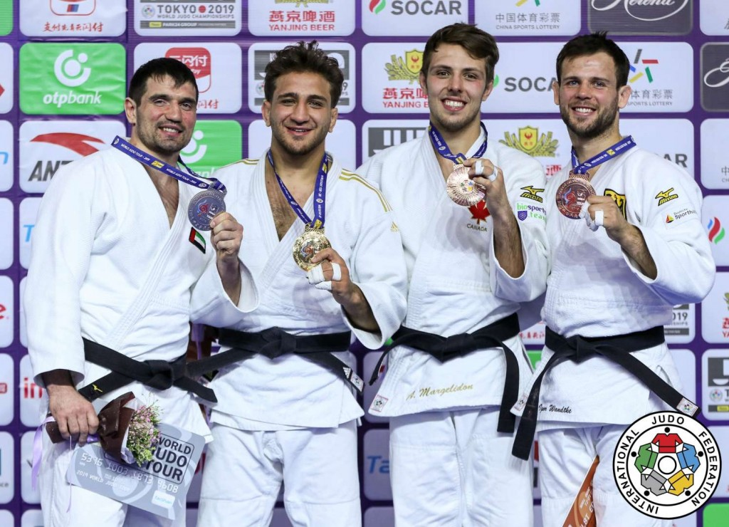 Judo Grand Prix hohhot 2019, -73kg medalists