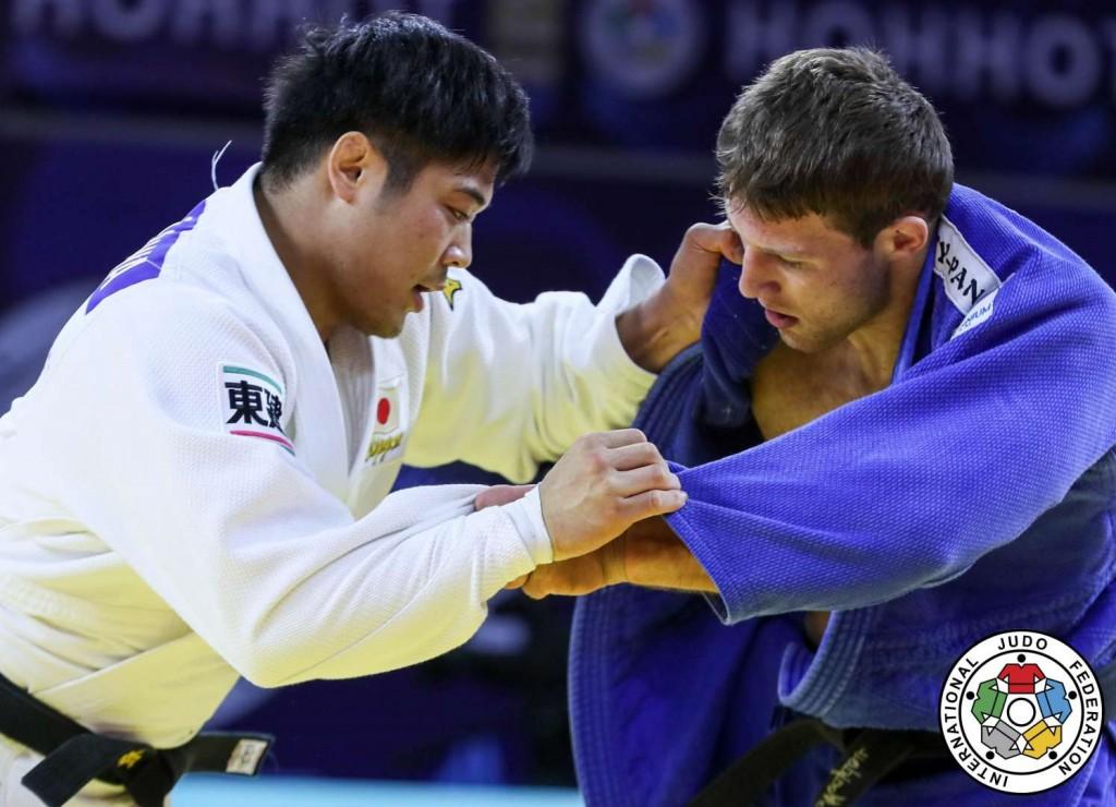 柔道グランプリ・フフホト2019、長澤憲大とネマニャ・マイドフによる90kg級決勝。