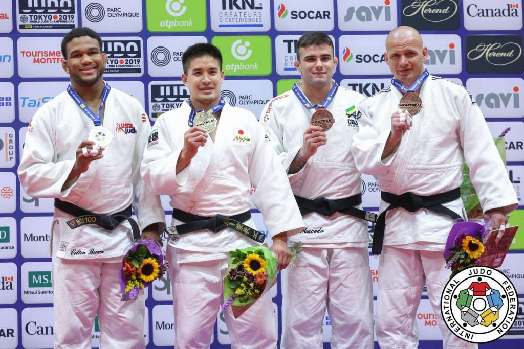 Judo Grand Prix Montreal 2019, -90kg Medalists