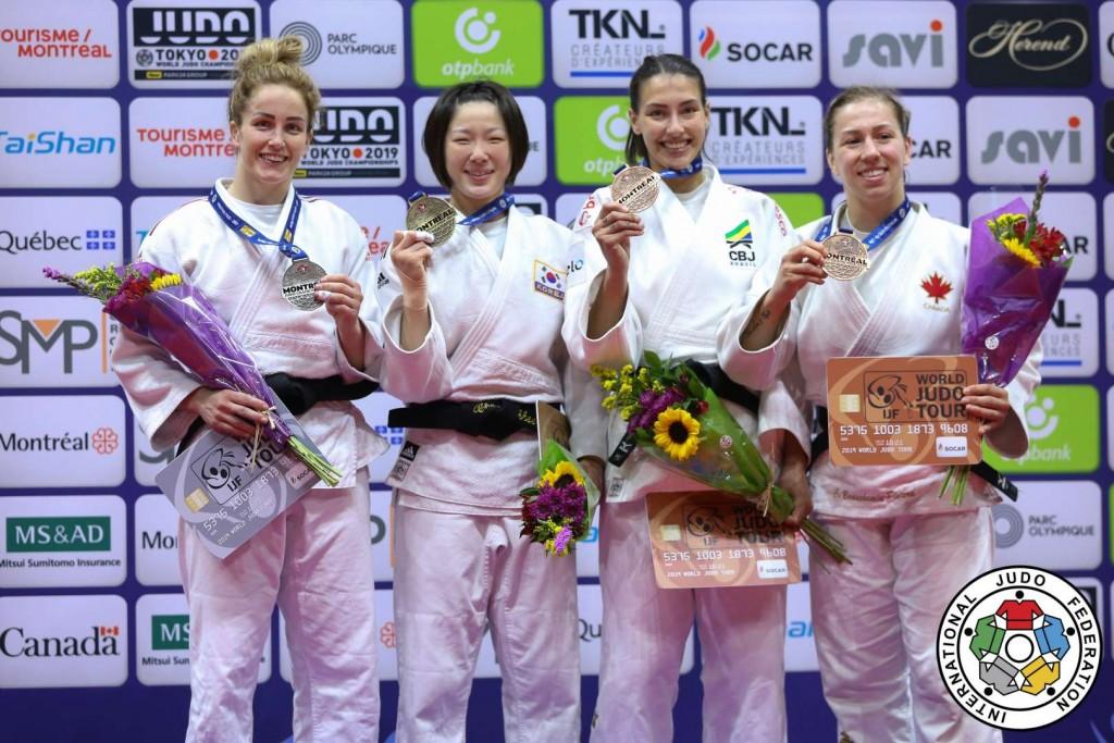 Judo Grand Prix Montreal 2019, -63kg Medalists
