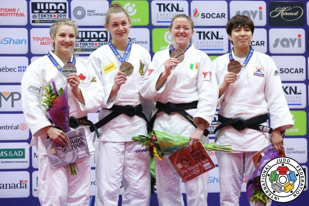 Judo Grand Prix Montreal 2019, -70kg Medalists
