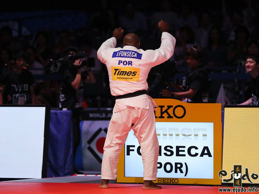 ジョルジ・フォンセカのダンスパフォーマンス George Fonseca dances at Final match on Judo World championships 2019 TOKYO