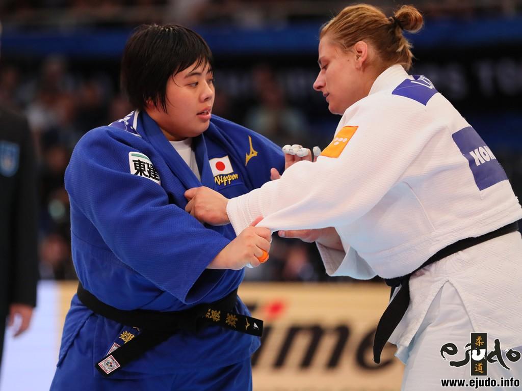 素根(SOEN AKIRAとラリサ・セリッチCERIC, Larisaの準々決勝