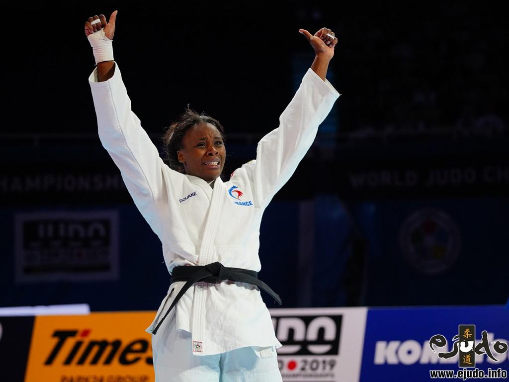 マドレーヌ・マロンガ MALONGA, Madeleine at World judo championships 2019 tokyo