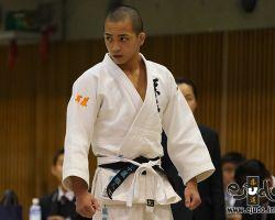 55kg級、決勝に臨む五十嵐雅人(埼玉栄高1年)
