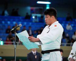 選手宣誓は最年長32歳の加藤博剛(千葉県警察)が務めた。